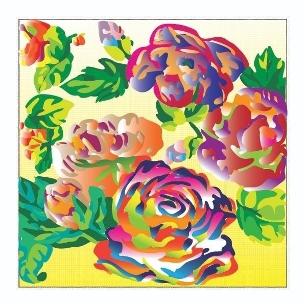 Flores - design, digital - j_r_s_ | ello