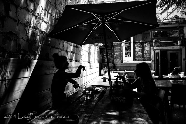 Patio girls - lazyphotographer | ello