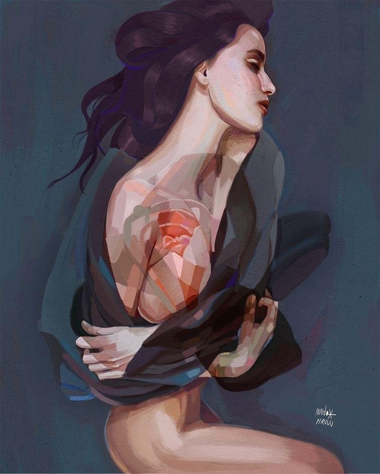 Morfea - art, illustration - mundopiruuu | ello