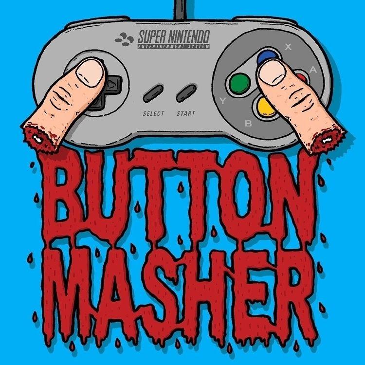mashing buttons - illustration, illustrator - rigourstudio | ello