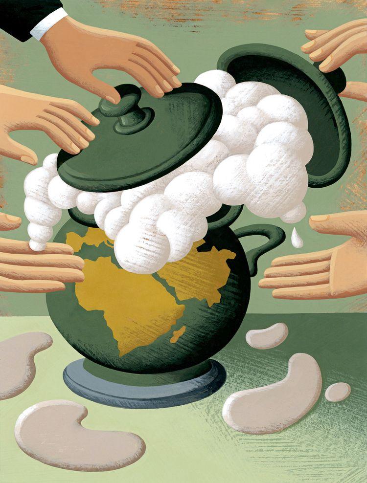Boiling - boiling,#pot,#world,#politics,#global,#crisis - nikad | ello