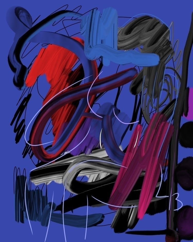 Untitled - digital, body, abstract - lasha_beraia | ello