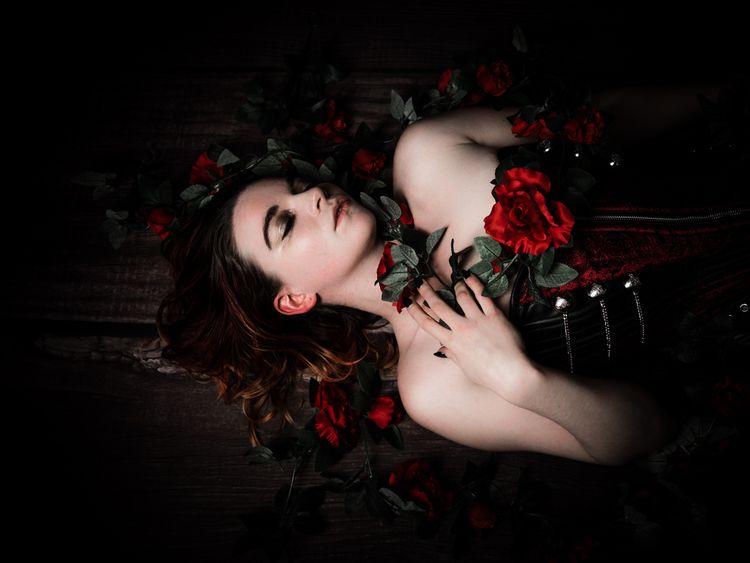 Model - portrait, photography, corset - darkenergyphotography | ello