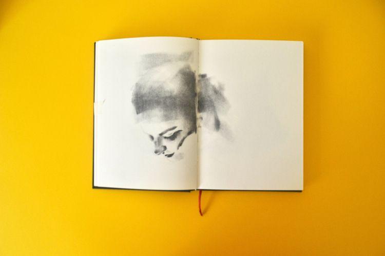 portrait, selfportrait, charcoal - soycristinaherranz | ello