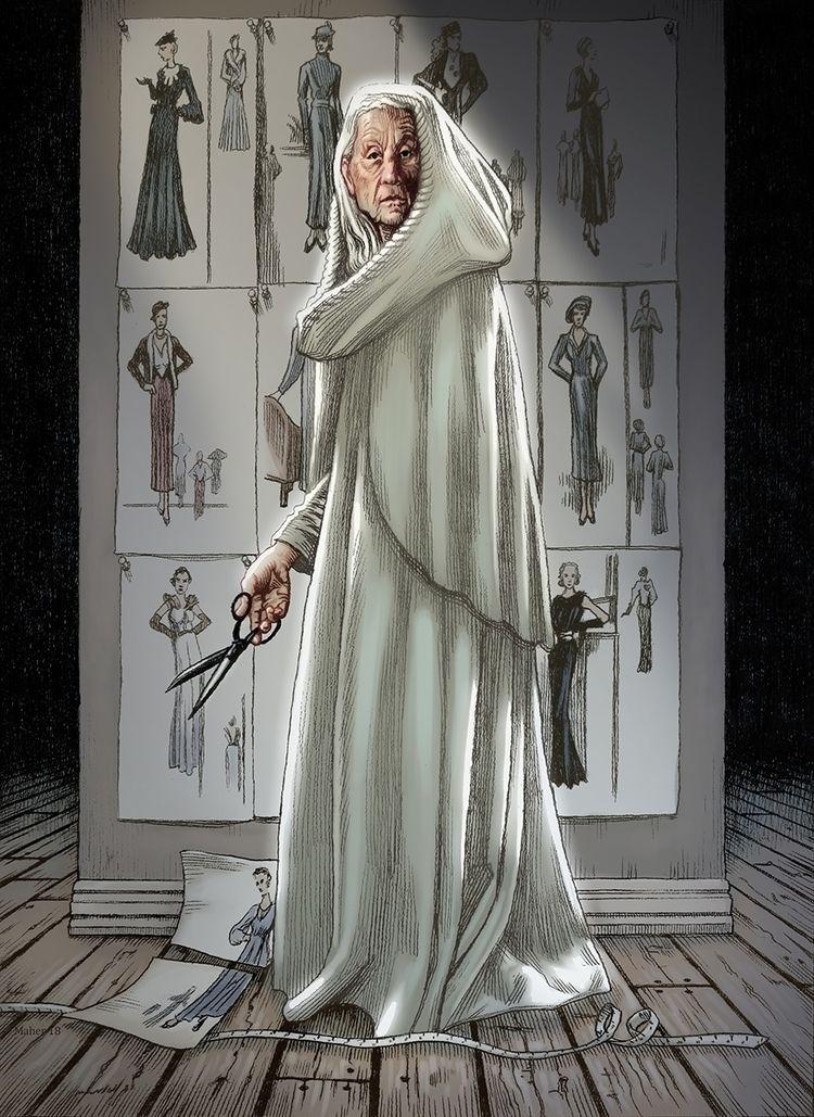 Craig Maher - White Atropos 9x1 - craigmaher | ello