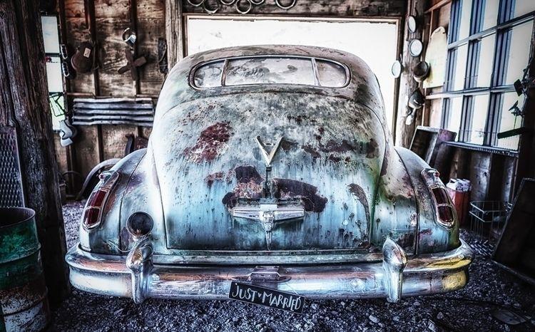 Vintage car Las Vegas. Vegas - auto - dogstarpics | ello