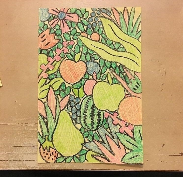 Small 5x7 color pencil.  - doodles - kyleconfehr | ello