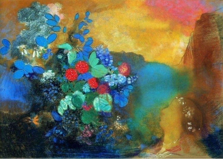 flowers - Ophelia, odilonredon, france - sweatersyouknow | ello
