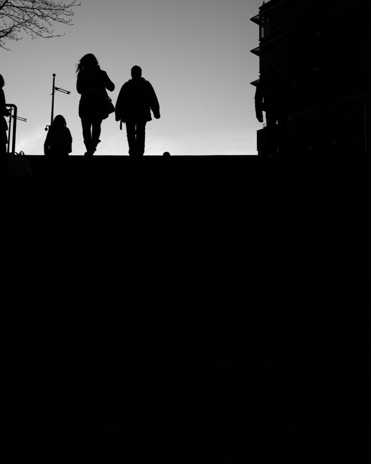 dusk nice days year - silhouettes - lokelghost | ello