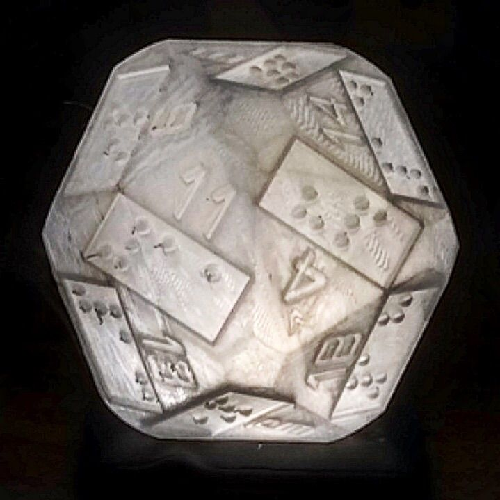D20 Lamp - 3dprint, lighting, lamp - sarah_pdgm | ello