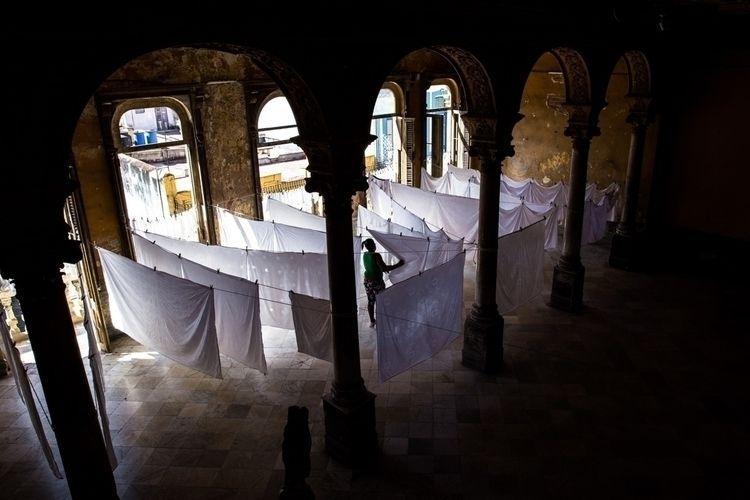 morning drying white table clot - pfaro | ello