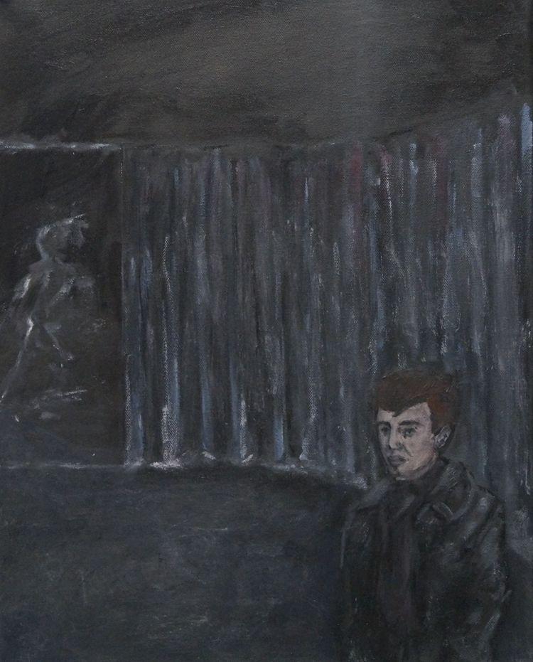 Studie für ein Porträt von (Oil - johannbaerenklau | ello