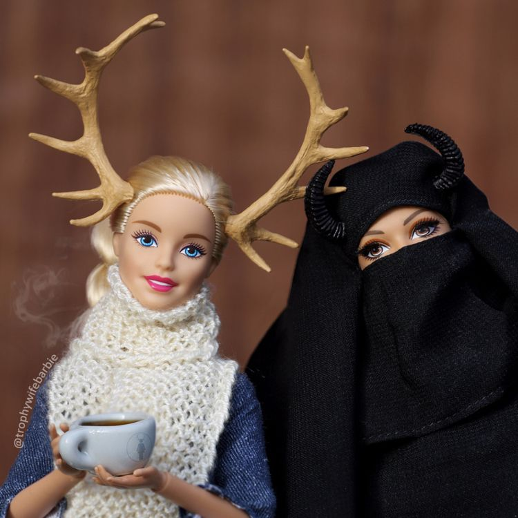 Trophy Wife Barbie? combine big - sowow_magazine | ello