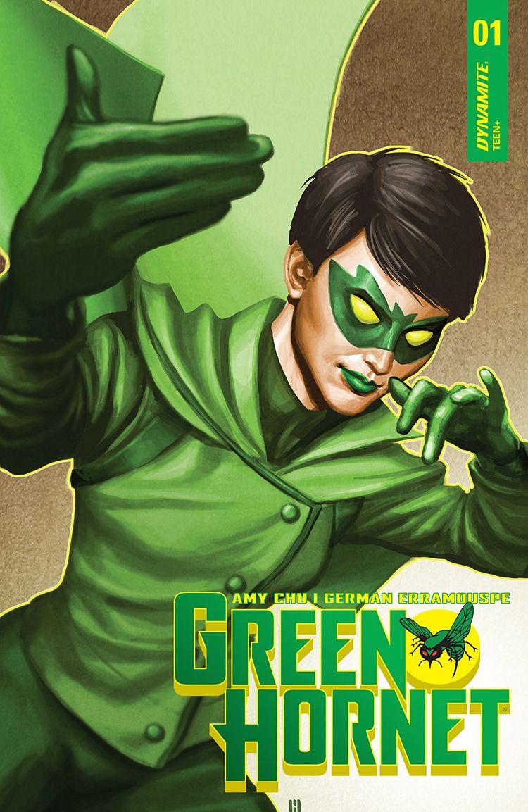 Green Hornet Dynamite Entertain - oosteven | ello
