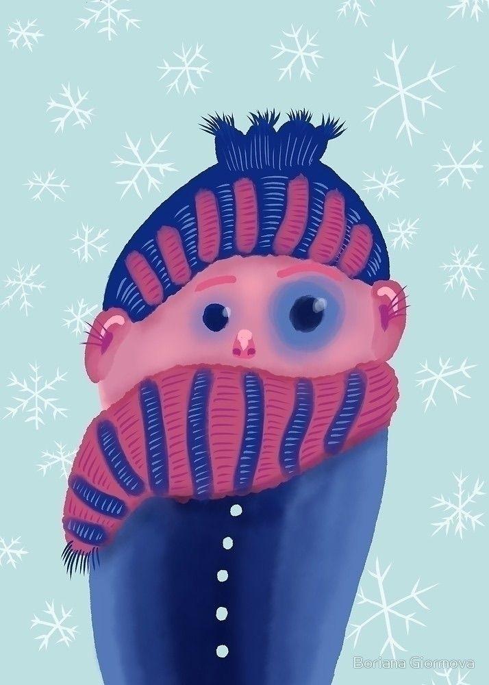 Spring latest winter artworks - illustration - borianag | ello
