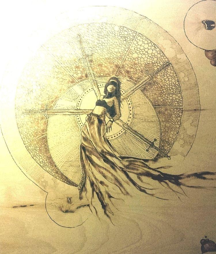 Pyrographie.Geisterfrau.Woodbur - m_i_k_r_o_b_i_a_r_t | ello