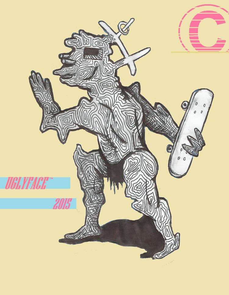 (Caveman) 2015 prints Highschoo - milespayne | ello