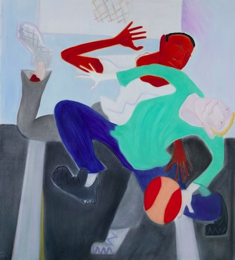 Pick oil/canvas, 62x54 - art, artists - markbarry | ello