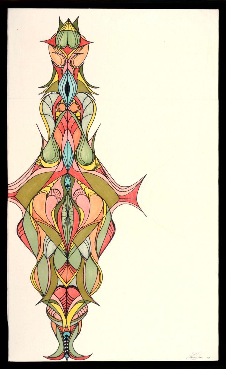 soul... Markers canvas 83cm 137 - lopez-orsini | ello