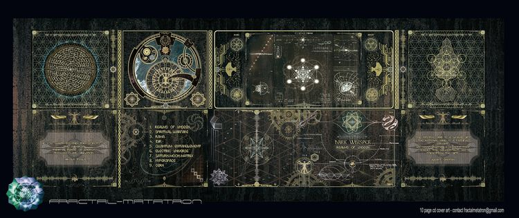 2016 Dark Whisper Album artwork - fractalmetatron | ello