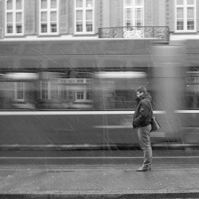 Snowflakes - candid, streetphotography - photokram | ello