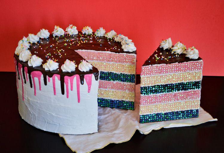 yummy Neapolitan Drip Cake part - jessicabrackett | ello