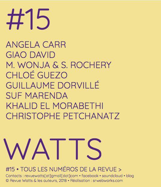 Watts#15 - sufmarenda | ello