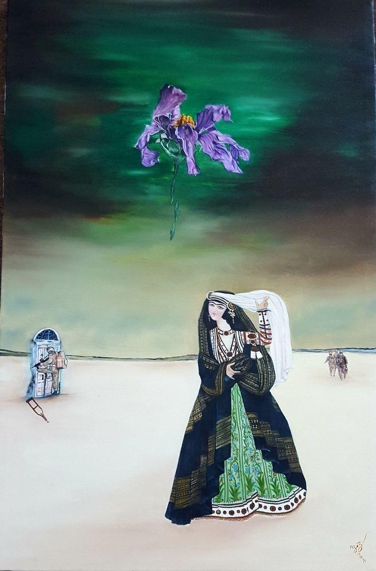 déjà vu#firstyve painting vu cr - azizanzabi | ello