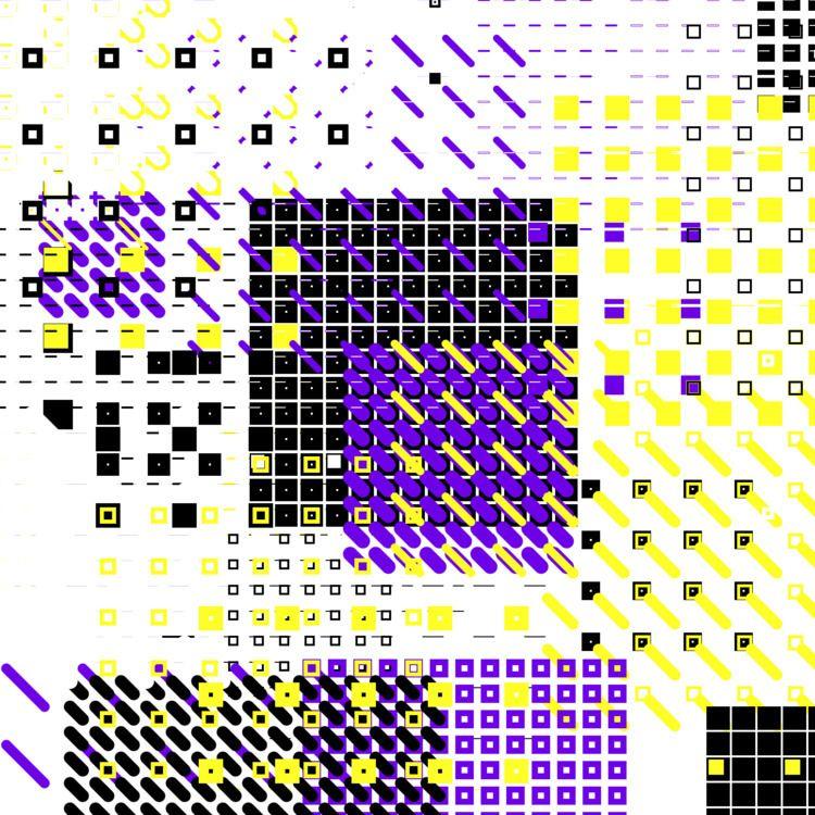 Geometric Shapes / 180311 - processing - sasj   ello