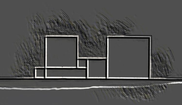 Parallel black white lines 03 I - istvanocztos | ello