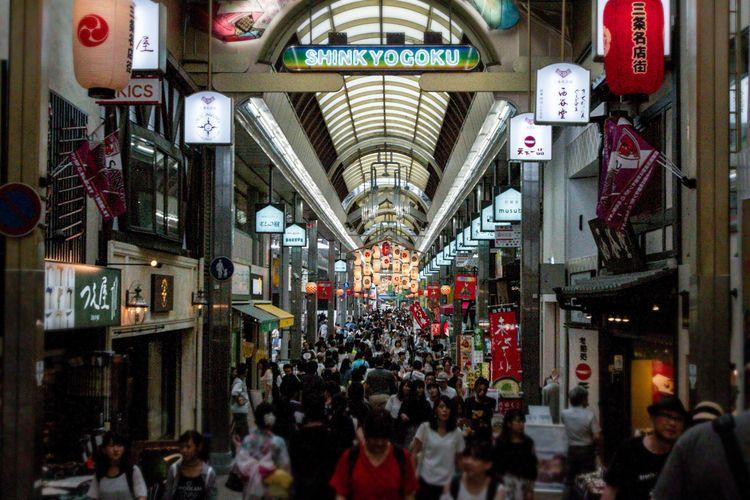 Shinkyogoku Shopping Street, Ky - candychann | ello
