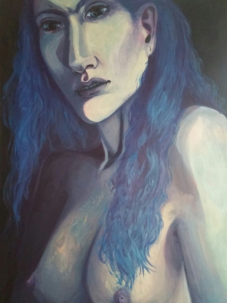 Vexed 48 40 Oil Canvas 2017 - oilpainting - amscout   ello