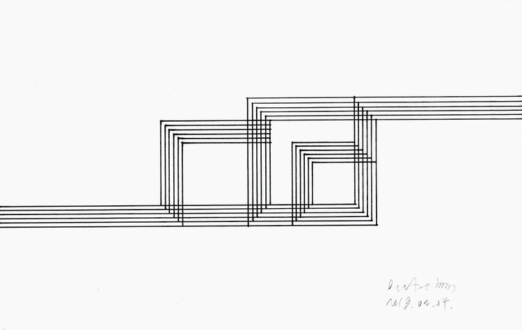 Squares Lines February 04, 2018 - istvanocztos | ello