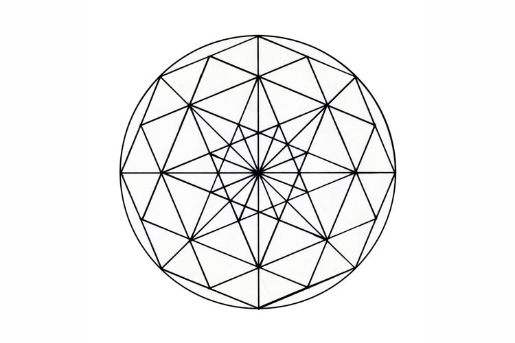 Octagon Circle Digitalized pape - istvanocztos | ello