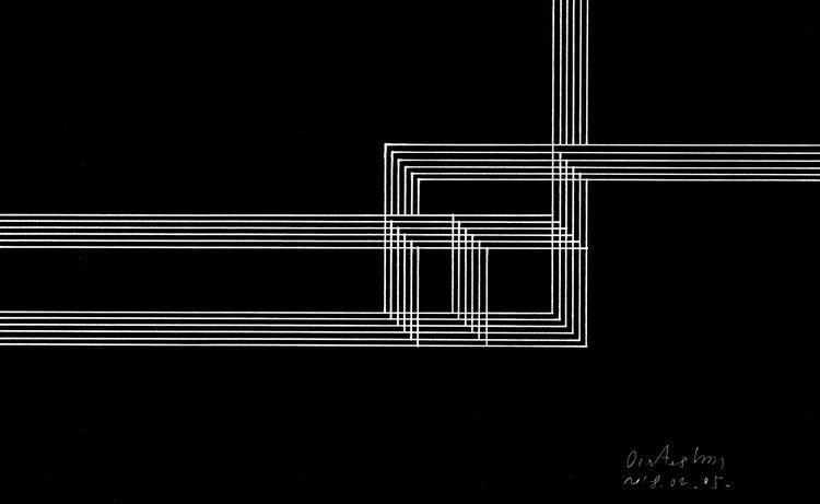 Squares Lines 03 Black Digitali - istvanocztos | ello