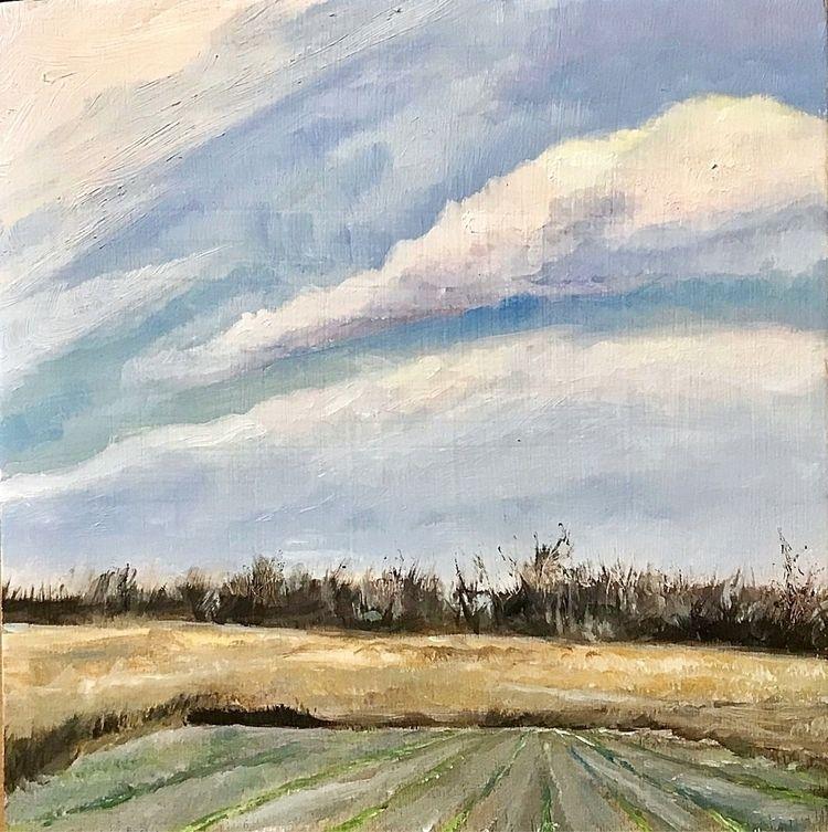 landscape - oilpainting, pleinair - shannon_trevethan | ello