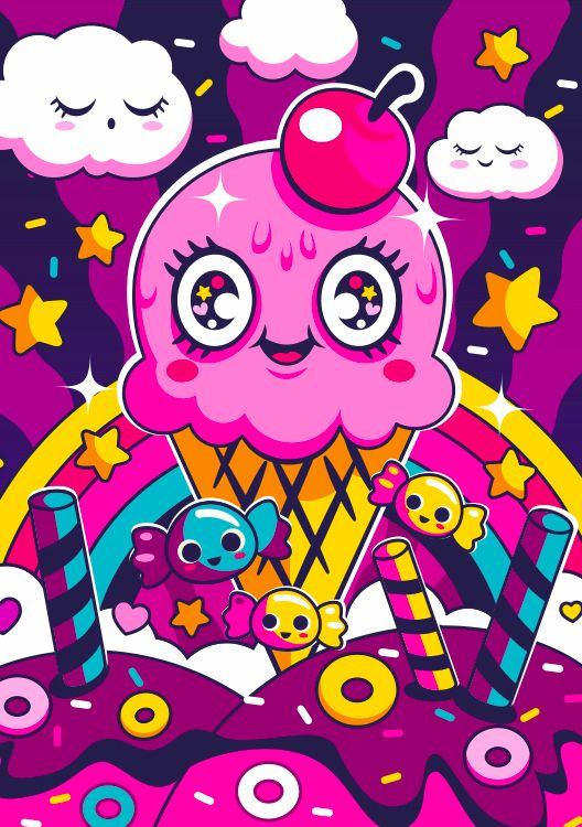 Sugar High: Sprinkle sugar junk - bo0nsai | ello