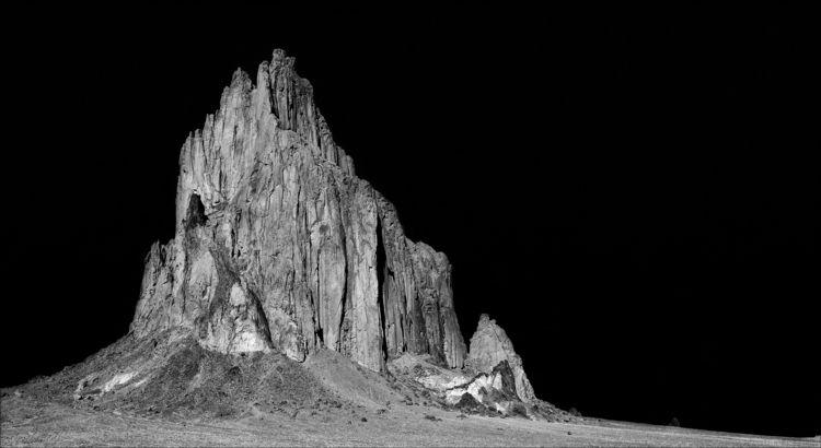 Shiprock northwestern Mexico, U - docdenny | ello