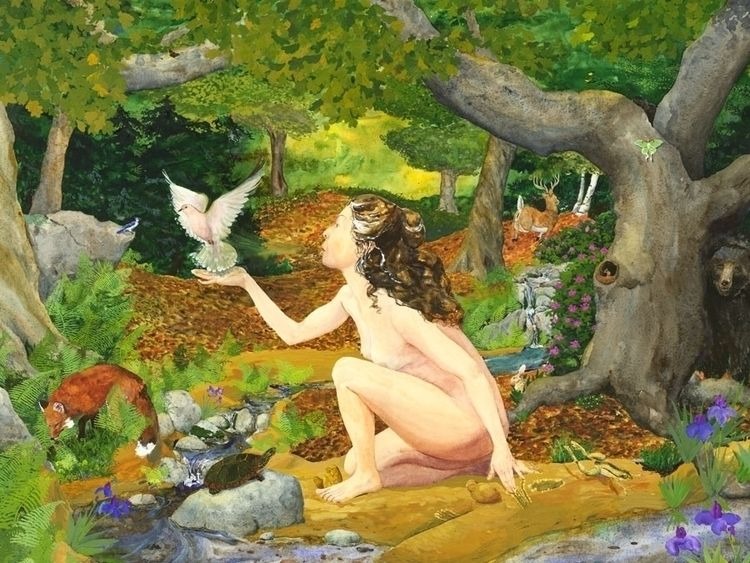 Breath Goddess. Goddess creates - jengretacart | ello