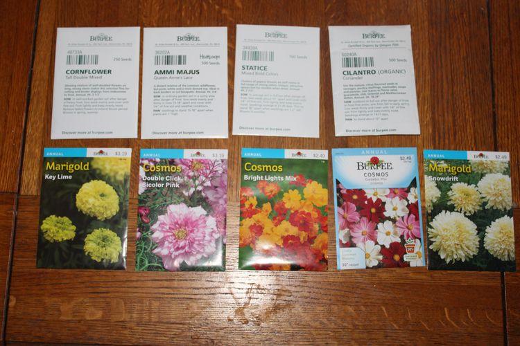 packet seeds purchased year gar - ejfern28 | ello