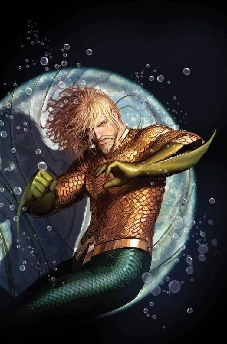 MomoaMonday, Aquaman - robogiggles   ello