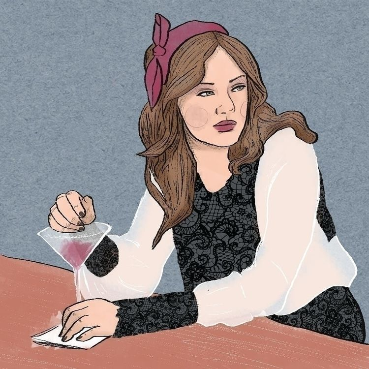 post. image Blair Waldorf. Draw - jadelenehan | ello