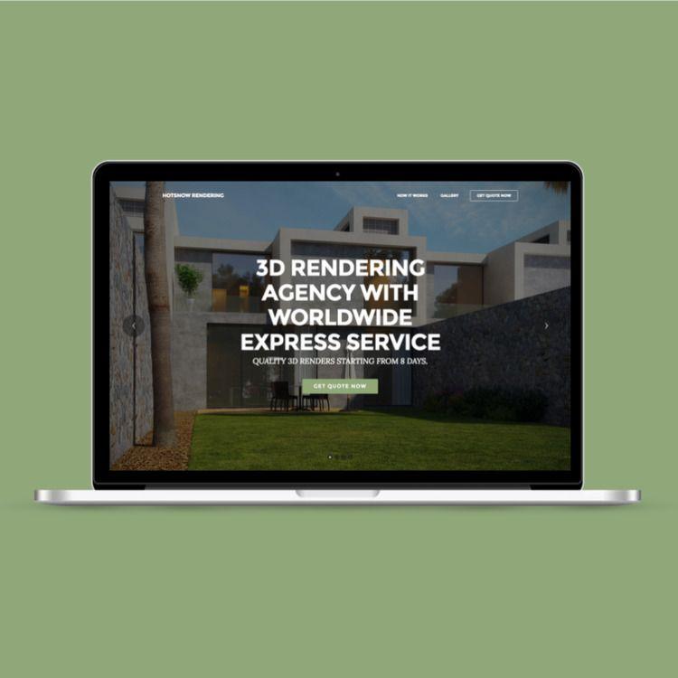 rendering.hotsnow.fi - 3drendering - olenlomalla | ello