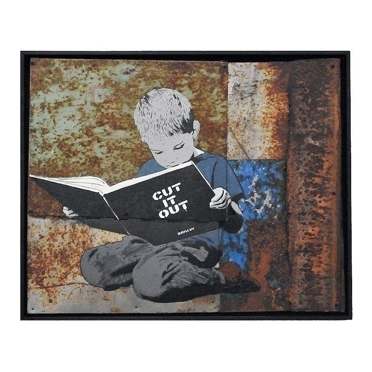 Cut | 69 56,5 cm 2014 - stencil - alias030 | ello