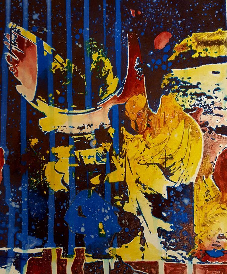 artistonello, mixedmedia, screenprint - matt_stenson | ello