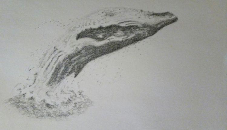 sketch watercolor class night.  - bruceruns | ello