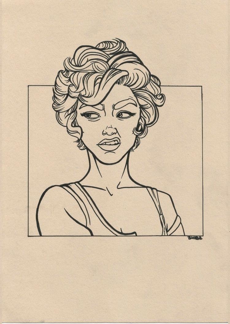 smell  - sketch, draw, sketchbook - 4ngeldust_   ello