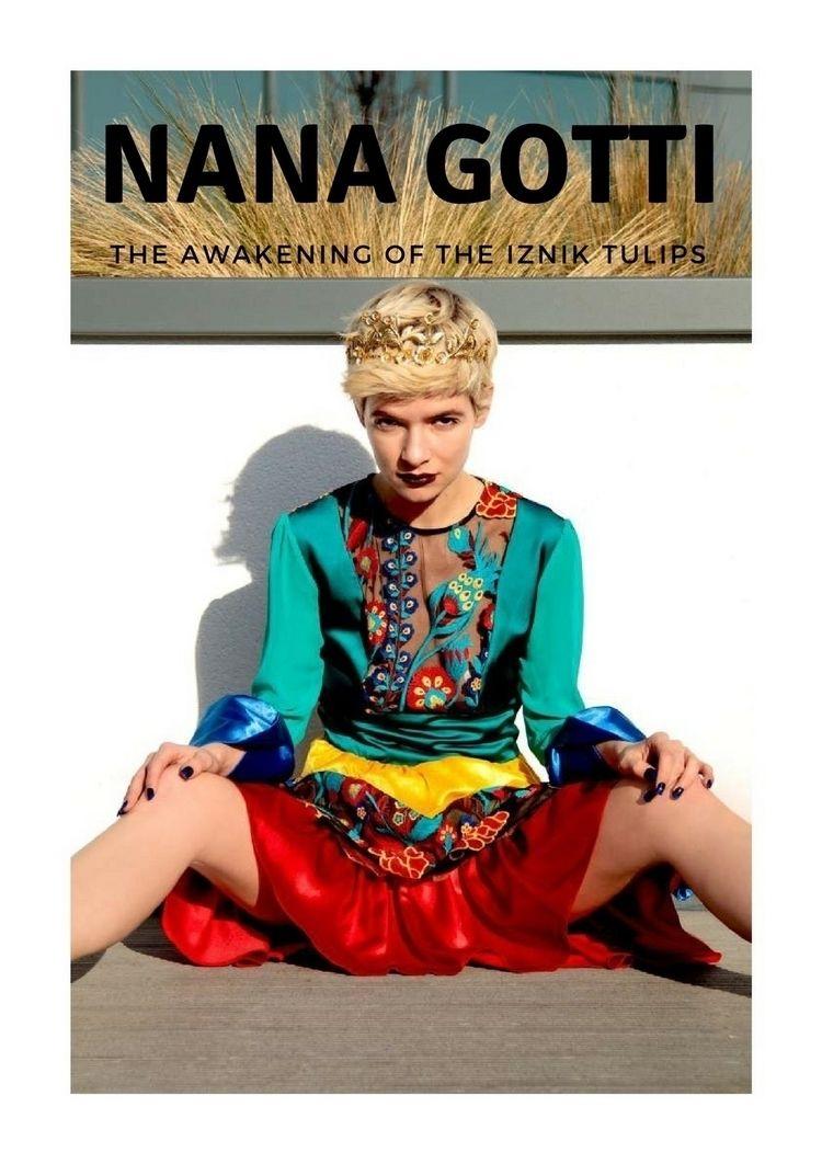 awakening Iznik tulips - fashion - sowow_magazine | ello