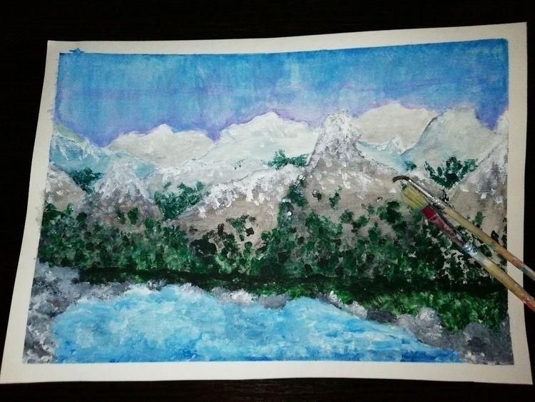 latest work good - mountains, lakebetweenmountains - ollcix3   ello