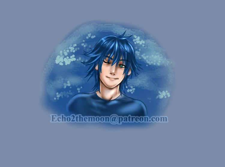 Smiling Noctis Fan art Final Fa - echo2themoon | ello